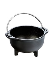 Black Cast Iron Country Kettle - Lodge