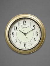 Silver Plastic Wall Clock - Rhythm