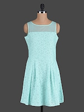 Sea Green Lace Dress - Eavan
