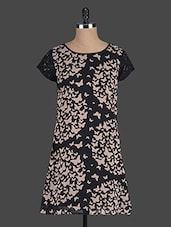 Black Butterfly Printed Dress - Eavan