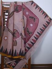 Cotton Hand Paint Saree - SURAVI
