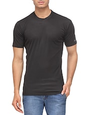 black 100% polyster tshirt -  online shopping for T-Shirts