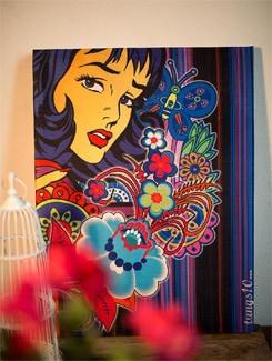 Fashion Print Wall Art - TUNGS10