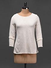 Long Sleeves Round Neck Top - Besiva