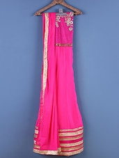 Pink Embroidered Suit Set - Viva N Diva