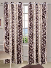 Printed Bamboo Eyelet Door Curtain - Handloomdaddy