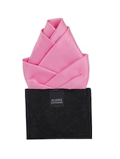 pink microfibre pocket square -  online shopping for Pocket Squares