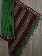 Handwoven Cotton Silk Jamdani Saree - Cotton Koleksi