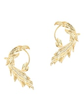 Golden Leaf Inspired Ear Cuff - Zindagi