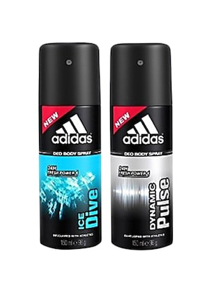 Adidas dynamic pulse & ice dive pulse  Deodorant Men 150ml Pack Of 2 -  online shopping for Deodorants