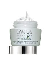 WHITEGLOW��� Skin Whitening & Brightening Nourishing Night Cr��me 60g - By