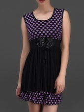 Polka Dot Printed Dress - London Off