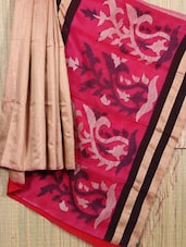 Handwoven Matka Silk Jamdani Saree - Cotton Koleksi