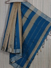 Striped Cotton Silk Handloom Saree - Creation