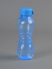 Blue Food Grade Plastic Water Bottle - Flair