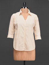 Plain Solid Cotton Shirt - Meee!