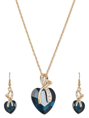 Heart of Ocean Inspired Neckpiece Set -  online shopping for Sets