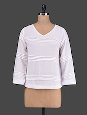 V Neck Long Sleeve Top - VAAK