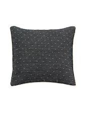 Pair Of Poly-Silk Swiss Dots Cushion Covers - Just Linen