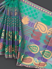 Multicolored Art Silk Saree - Prabha Creations