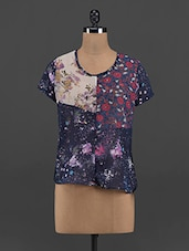 Floral Print Polyester Top - Yepme
