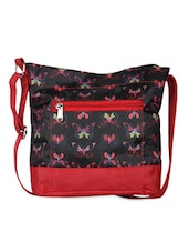 Butterfly Print Handbag - Vogue Tree