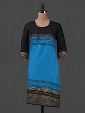 COTTON BLOCK PRINT KURTA - SHREE