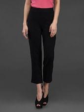 Black Pant With Back Pocket - Finesse
