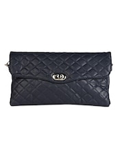 Quilted Leatherette Sling Bag - Lass Lee