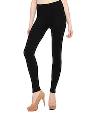 black cotton leggings -  online shopping for Leggings