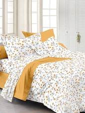 Cotton Allover Print Double Bed Sheet - Story @ Home