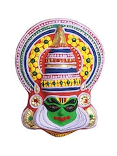 WALL HANGING KATHAKALI MASK MADE IN PAPER PULPE MEDIUM -  online shopping for Wall Hanging