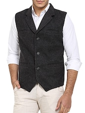 grey wool waist coat -  online shopping for Waist coat