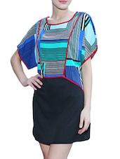 Printed Polycrepe Dress - Meiro