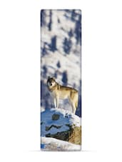 """Gray Wolf"" National Geographic 3D Bookmark - That Company Called IF By Mufubu"