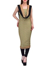 Muted Green Cotton Unstitched Suit Set - SSPK