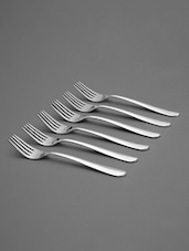 Stainless Steel Forks Set - Shapes - 1091262