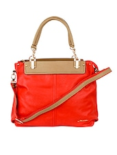 Red Leatherette Tote Bag - Alonzo