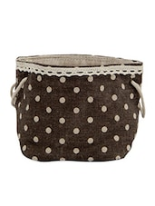 Polka Dot Printed Bag Planter - Gifts By Meeta