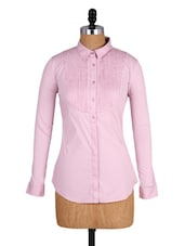 Light Pink Full-sleeved Shirt - Amari West