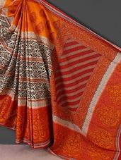 Multicolor Printed Printed Cotton Saree - Kamal Sarees