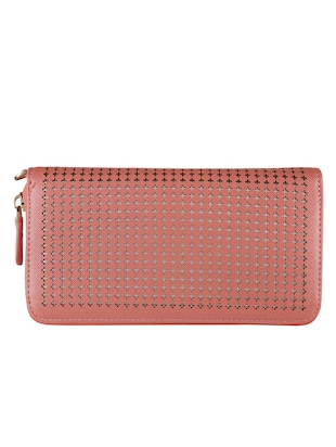 pink leatherette wallet -  online shopping for wallets