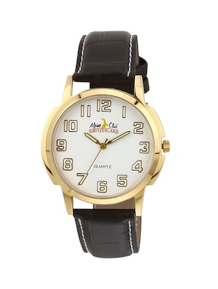 ALPINE CLUB 002 WHITE ALPS MEN'S WATCH BY SWISS MILITARY  -  online shopping for Analog Watches