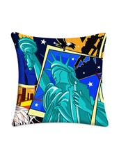 Eiffel Tower Digitally Printed Cushion Cover - Mesleep