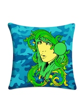 Girl Digitally Printed Cushion Cover - Mesleep