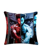 Man With Claws Printed Cushion Cover - Mesleep
