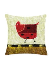 One Chick Digitally Printed Cushion Cover - Mesleep