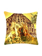 War Digitally Printed Cushion Cover - Mesleep