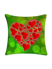 Hearts Digitally Printed Cushion Cover - Mesleep