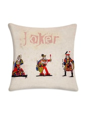 Cards Of Joker Digital Printed Cushion Cover - Mesleep